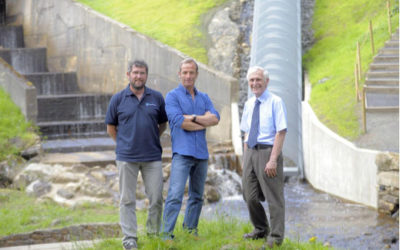 Mann Power installs turbine at birthplace of hydropower
