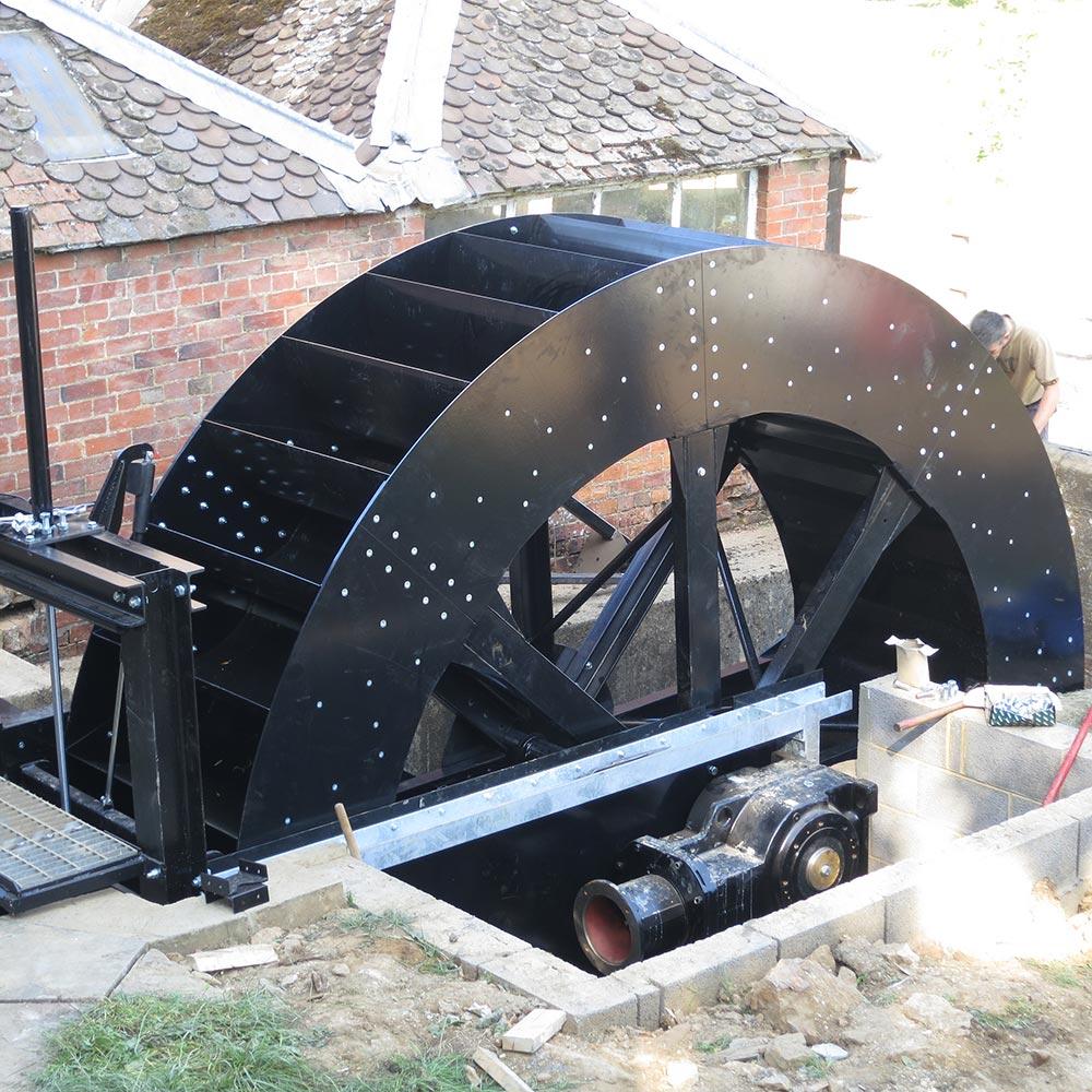 Edgcote Waterwheel
